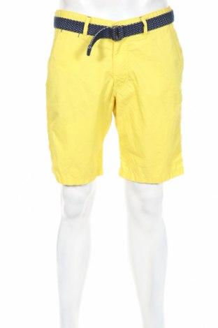 Мъжки къс панталон McNeal, Размер M, Цвят Жълт, Памук, Цена 33,58лв.