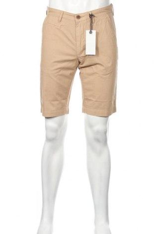Ανδρικό κοντό παντελόνι Pioneer, Μέγεθος M, Χρώμα  Μπέζ, Βαμβάκι, Τιμή 10,89€