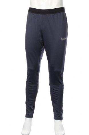 Colanți de bărbați Hummel, Mărime XL, Culoare Albastru, 90% poliester, 10% elastan, Preț 64,48 Lei