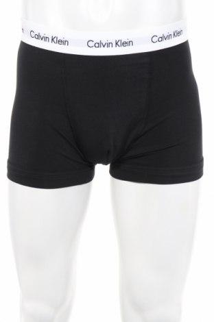 Мъжки комплект Calvin Klein, Размер M, Цвят Черен, 95% памук, 5% еластан, Цена 66,75лв.