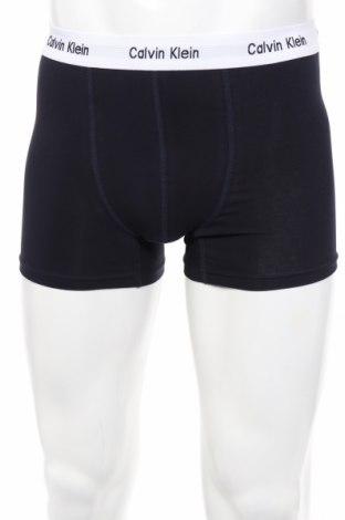 Мъжки комплект Calvin Klein, Размер M, Цвят Черен, 95% памук, 5% еластан, Цена 45,10лв.