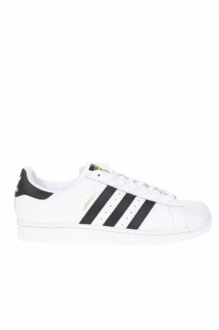 Мъжки обувки Adidas Originals, Размер 42, Цвят Бял, Естествена кожа, еко кожа, Цена 114,92лв.