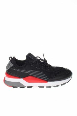 Pánske topánky PUMA, Veľkosť 42, Farba Čierna, Textil, pravá koža , Cena  97,42€