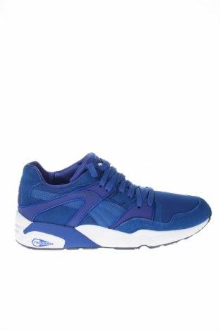 Pánske topánky PUMA, Veľkosť 44, Farba Modrá, Prírodný velur , textil, Cena  97,42€