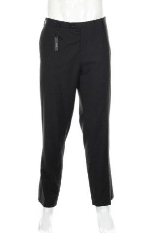 Мъжки панталон Alberto Cardinali, Размер XL, Цвят Черен, 65% полиестер, 35% вискоза, Цена 40,09лв.