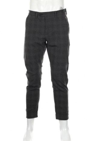 Мъжки панталон Jack & Jones, Размер M, Цвят Сив, 68% полиестер, 29% вискоза, 3% еластан, Цена 31,15лв.