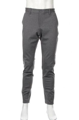 Pánske nohavice  Only & Sons, Veľkosť L, Farba Sivá, 79% polyester, 18% viskóza, 3% elastan, Cena  29,90€