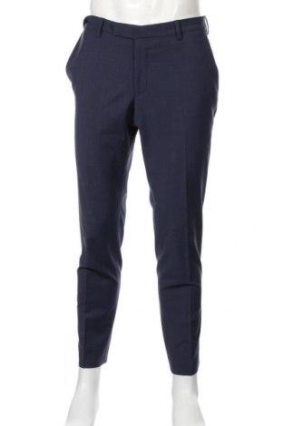 Pánske nohavice  Pierre Cardin, Veľkosť L, Farba Modrá, 55% vlna, 41% polyester, 4% elastan, Cena  45,21€