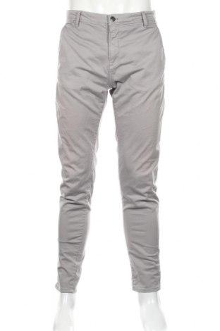 Ανδρικό παντελόνι Zara, Μέγεθος L, Χρώμα Γκρί, 98% βαμβάκι, 2% ελαστάνη, Τιμή 19,30€