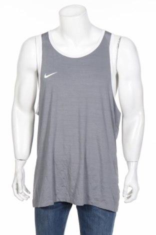 Мъжки потник Nike, Размер XXL, Цвят Сив, 88% полиестер, 12% еластан, Цена 58,85лв.