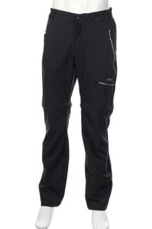 Мъжки спортен панталон CMP, Размер L, Цвят Черен, 91% полиамид, 9% еластан, Цена 46,08лв.