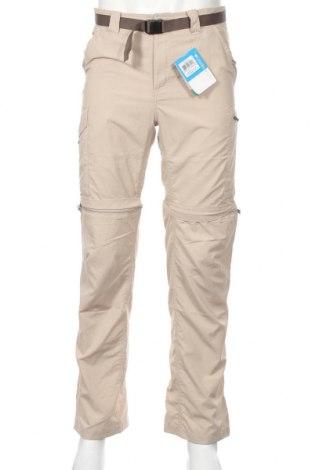 Мъжки спортен панталон Columbia, Размер S, Цвят Бежов, Полиамид, Цена 64,08лв.