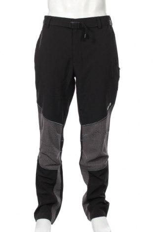 Мъжки спортен панталон Izas, Размер XL, Цвят Черен, 92% полиестер, 8% еластан, Цена 49,68лв.
