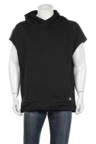 Ανδρικό φούτερ Adidas, Μέγεθος L, Χρώμα Μαύρο, 73% βαμβάκι, 27% πολυεστέρας, Τιμή 34,14€
