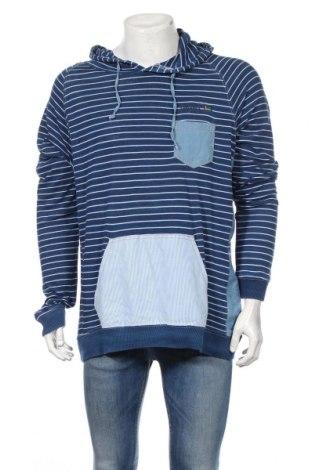 Pánska mikina  Desigual, Veľkosť XL, Farba Modrá, Bavlna, Cena  22,62€
