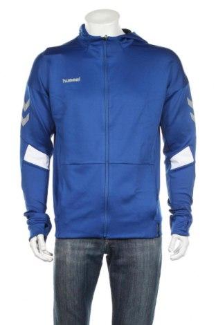 Męska bluza Hummel, Rozmiar M, Kolor Niebieski, 95% poliester, 5% elastyna, Cena 109,15zł