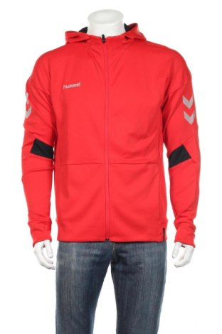 Męska bluza Hummel, Rozmiar M, Kolor Czerwony, 95% poliester, 5% elastyna, Cena 109,15zł