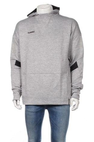 Мъжки суичър Hummel, Размер XL, Цвят Сив, 95% полиестер, 5% еластан, Цена 42,48лв.