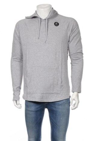 Мъжки суичър Hurley, Размер M, Цвят Сив, 85% памук, 15% полиестер, Цена 66,24лв.