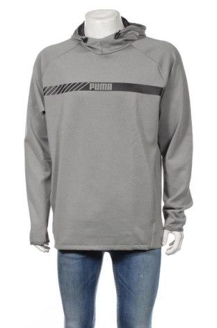Męska bluza PUMA, Rozmiar XL, Kolor Szary, 89% poliester, 11% elastyna, Cena 164,65zł