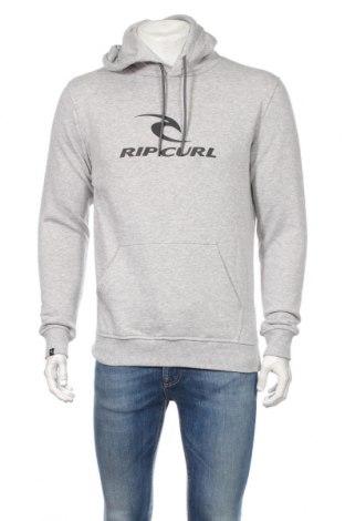 Мъжки суичър Rip Curl, Размер S, Цвят Сив, 60% памук, 40% полиестер, Цена 51,84лв.