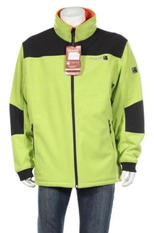 Мъжко поларено яке Deproc, Размер XXL, Цвят Зелен, 100% полиестер, Цена 74,12лв.