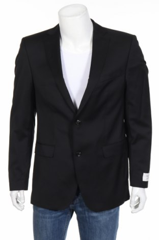 Pánske sako  Carl Gross, Veľkosť M, Farba Čierna, Vlna, Cena  100,35€