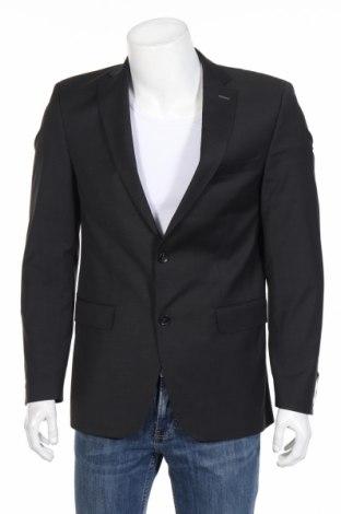 Pánske sako  Carl Gross, Veľkosť S, Farba Sivá, 54% polyester, 44% vlna, 2% elastan, Cena  100,35€
