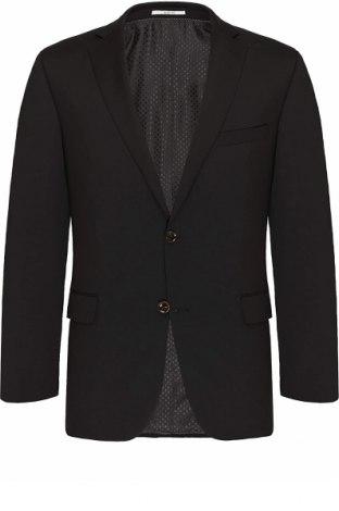 Мъжко сако Carl Gross, Размер M, Цвят Черен, 100% памук, Цена 139,00лв.