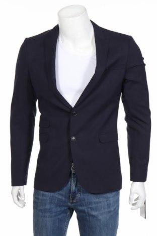 Pánske sako  Drykorn for beautiful people, Veľkosť S, Farba Modrá, 52% polyester, 43% vlna, 5% elastan, Cena  106,84€