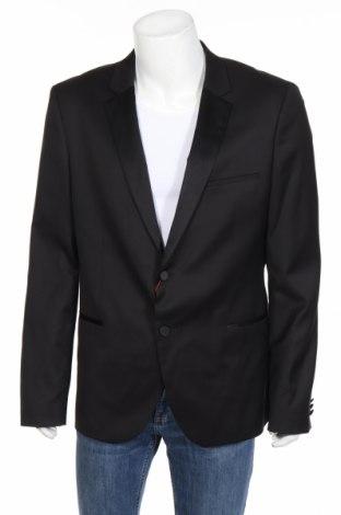 Pánske sako  Hugo Boss, Veľkosť XL, Farba Čierna, Vlna, Cena  84,11€