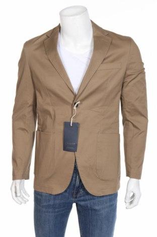 Мъжко сако Jack & Jones, Размер M, Цвят Бежов, 98% памук, 2% еластан, Цена 66,75лв.