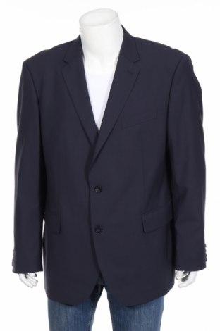 Pánske sako  Pierre Cardin, Veľkosť XXL, Farba Modrá, 70% vlna, 27% polyester, 3% elastan, Cena  59,23€