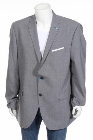 Pánske sako  Pierre Cardin, Veľkosť 3XL, Farba Sivá, 55% vlna, 41% polyester, 4% elastan, Cena  51,63€