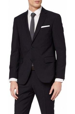 Мъжко сако Pierre Cardin, Размер L, Цвят Сив, 100% вълна, Цена 97,30лв.