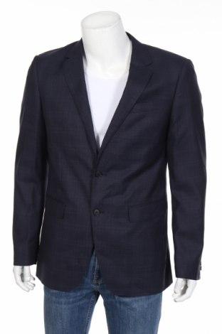 Pánske sako  S.Oliver, Veľkosť M, Farba Modrá, Vlna, Cena  97,42€