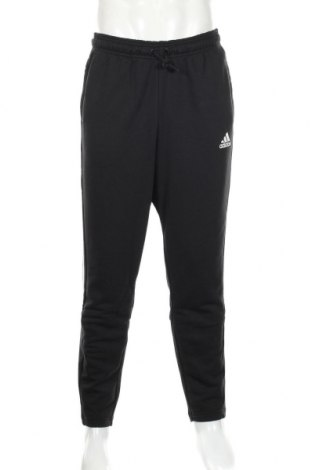 Ανδρικό αθλητικό παντελόνι Adidas, Μέγεθος XL, Χρώμα Μαύρο, 70% βαμβάκι, 30% πολυεστέρας, Τιμή 36,74€