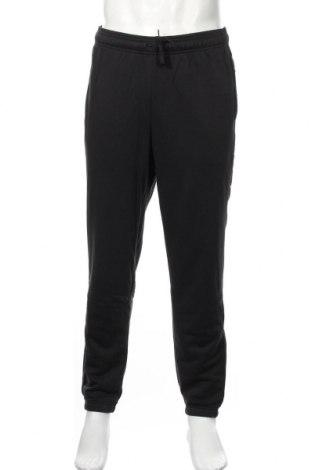 Pantaloni trening de bărbați Adidas, Mărime M, Culoare Negru, 70% bumbac, 30% poliester, Preț 168,63 Lei