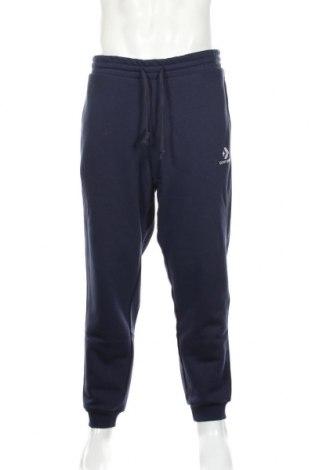 Pánské tepláky  Converse, Rozměr L, Barva Modrá, 78% bavlna, 22% polyester, Cena  929,00Kč