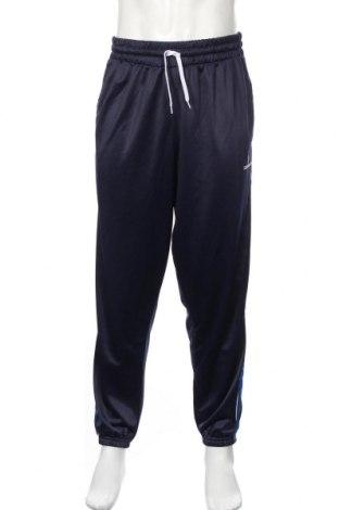 Pantaloni trening de bărbați Donnay, Mărime L, Culoare Albastru, Poliester, Preț 100,00 Lei