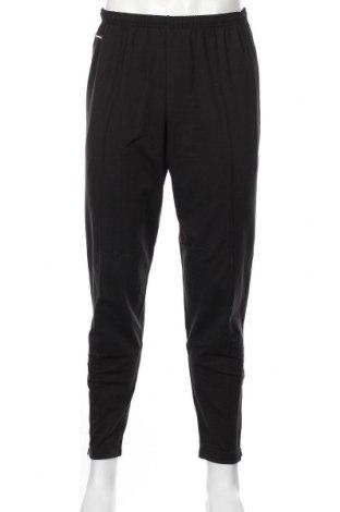 Pantaloni trening de bărbați Sporthill, Mărime L, Culoare Negru, 40% poliester, 26%acril, 22% viscoză, 12% elastan, Preț 98,52 Lei