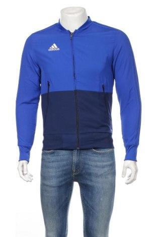 Мъжко спортно горнище Adidas, Размер XS, Цвят Син, Полиестер, Цена 74,12лв.