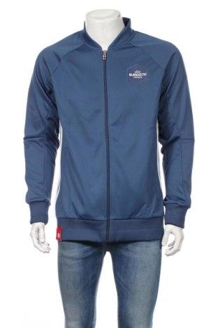 Bluză trening de bărbați Adidas, Mărime L, Culoare Albastru, Poliester, Preț 180,71 Lei