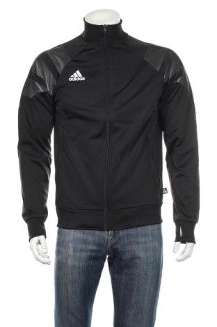 Bluză trening de bărbați Adidas, Mărime M, Culoare Negru, Poliester, Preț 187,58 Lei
