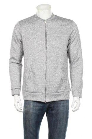 Bluză trening de bărbați Boohoo, Mărime XL, Culoare Gri, 95% poliester, 5% elastan, Preț 115,79 Lei