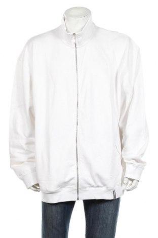 Bluză trening de bărbați Clique, Mărime 3XL, Culoare Alb, 80% bumbac, 20% poliester, Preț 87,16 Lei