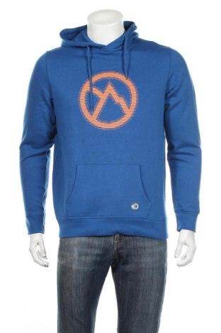 Męska bluza sportowa Discovery, Rozmiar M, Kolor Niebieski, 63% bawełna, 37% poliester, Cena 114,70zł