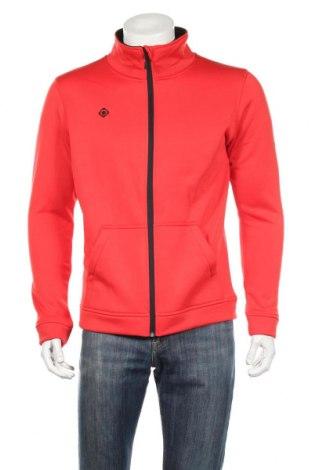 Bluză trening de bărbați Izas, Mărime M, Culoare Roșu, Poliester, Preț 111,79 Lei
