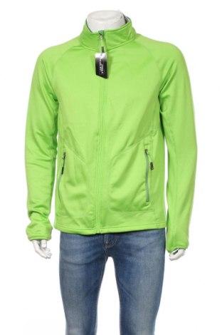 Мъжко спортно горнище James & Nicholson, Размер XXL, Цвят Зелен, 92% полиестер, 8% еластан, Цена 37,44лв.