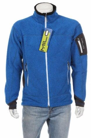 Bluză trening de bărbați Milo, Mărime L, Culoare Albastru, Poliester, Preț 102,32 Lei
